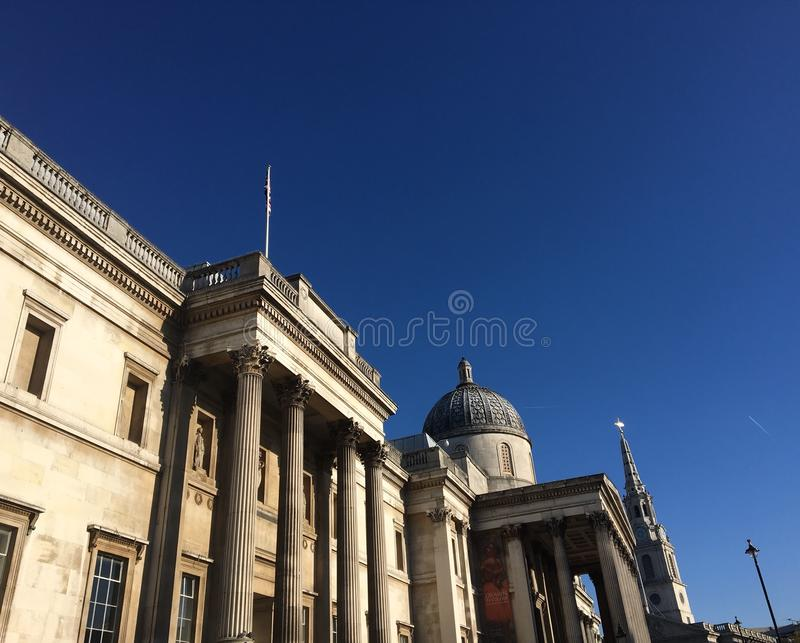 Galerie nationale de Londres photographie stock libre de droits
