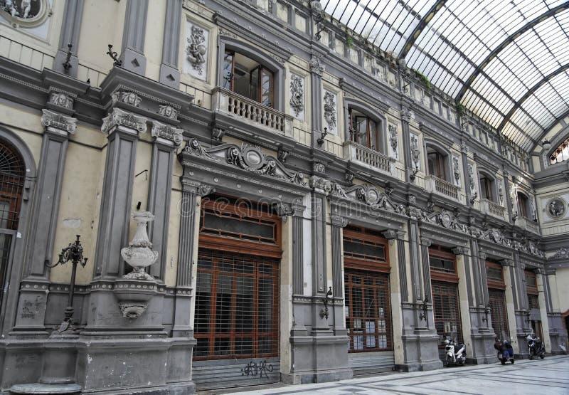 Galerie in Neapel stockfotografie