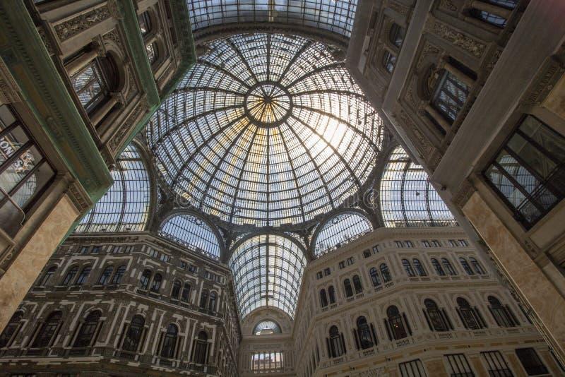 Galerie Umberto-I stockbild