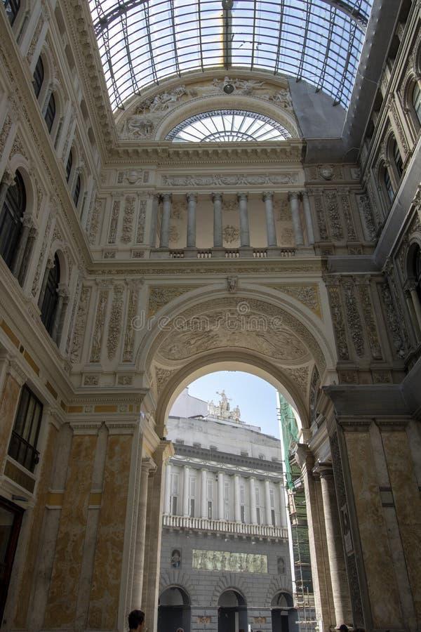 Galerie Umberto-I lizenzfreie stockbilder