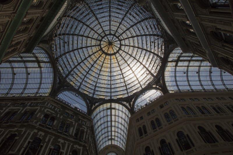 Galerie Umberto-I stockfoto