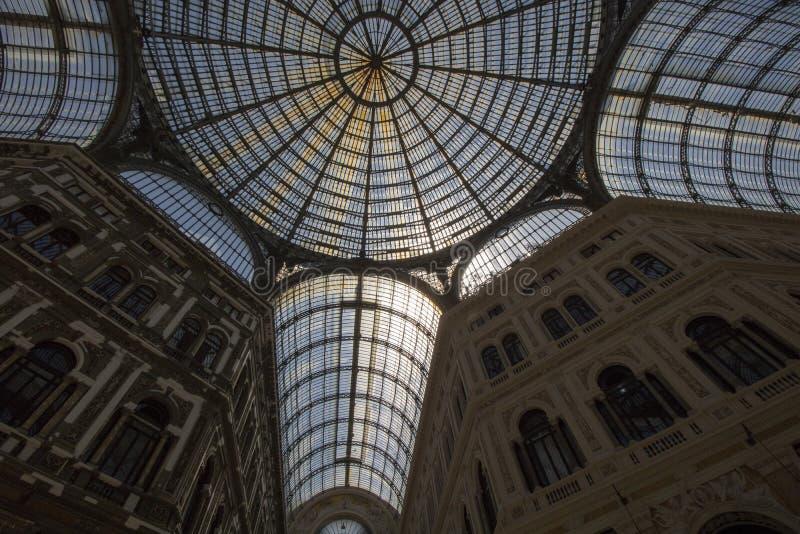 Galerie Umberto-I lizenzfreies stockbild