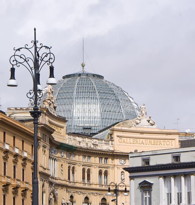 Download Galerie Umberto I, Neapel stockfoto. Bild von geschichte - 26364606
