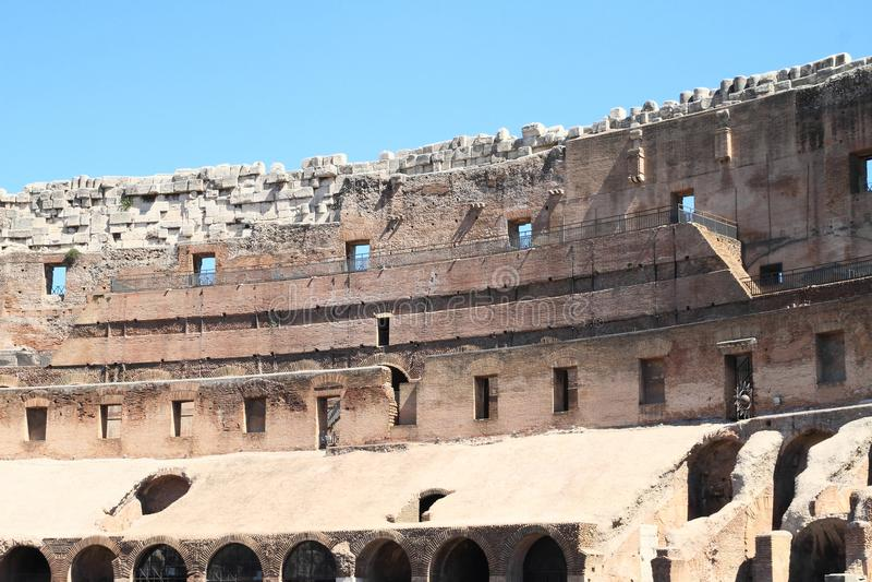Galerie von Colosseum stockfoto