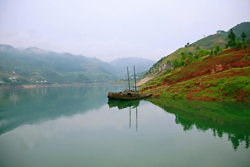 Galerie Yichangs Qingjiang stockfotografie