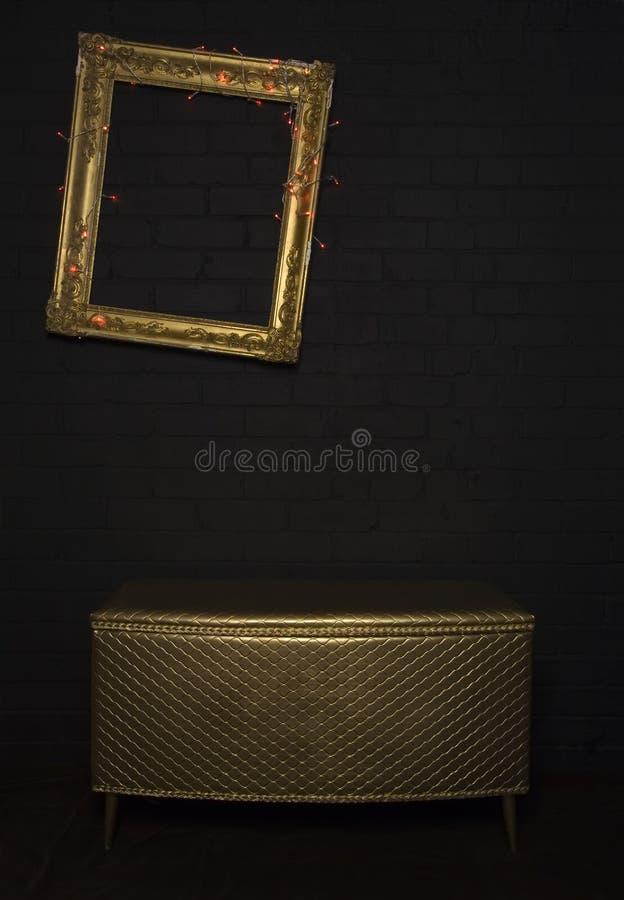 Galeriebildschirmanzeige stockfoto