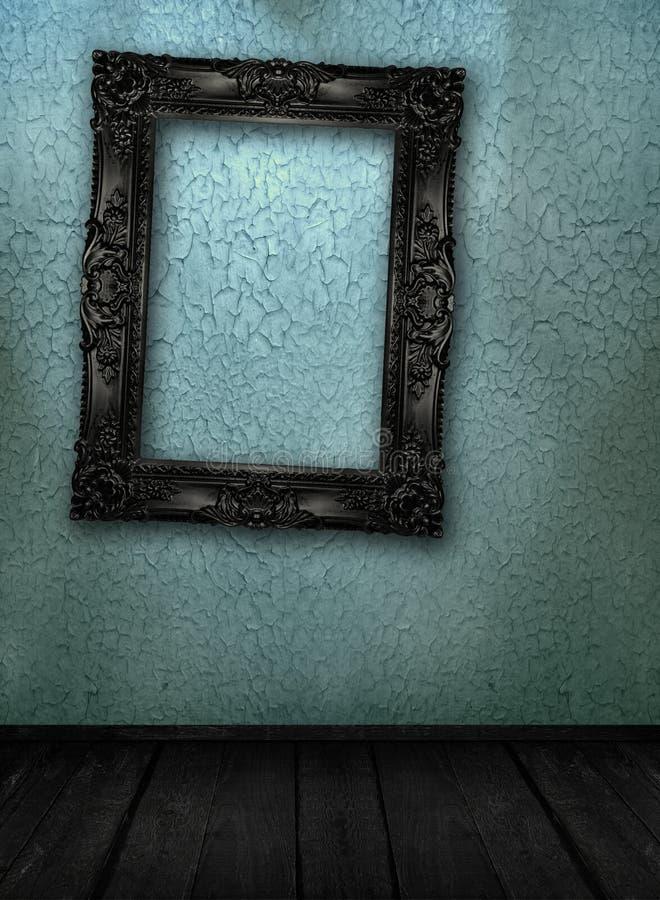 Galeriebildschirmanzeige stockbilder