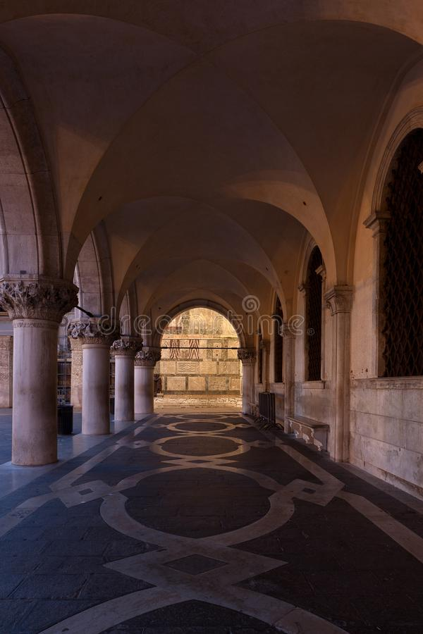 Galeriedogepalast San Marco, Venedig, Venezia, Italien, Italien lizenzfreie stockbilder