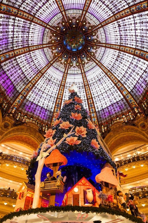 Galeries Lafayette fotografie stock