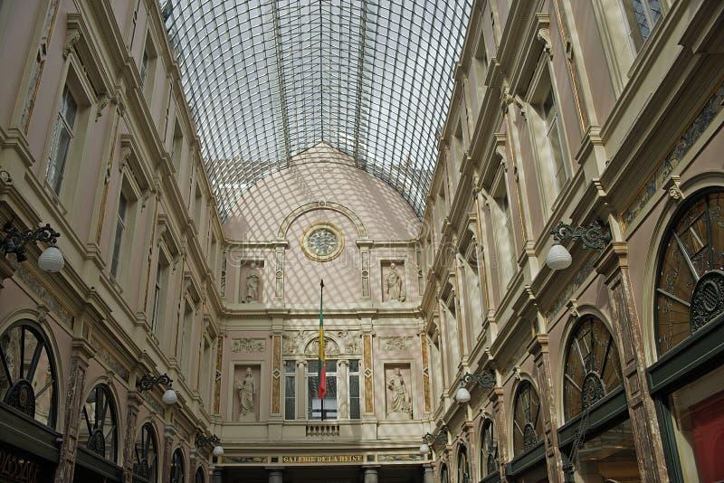 Galeries Royales Hubert, Belgia zdjęcie royalty free