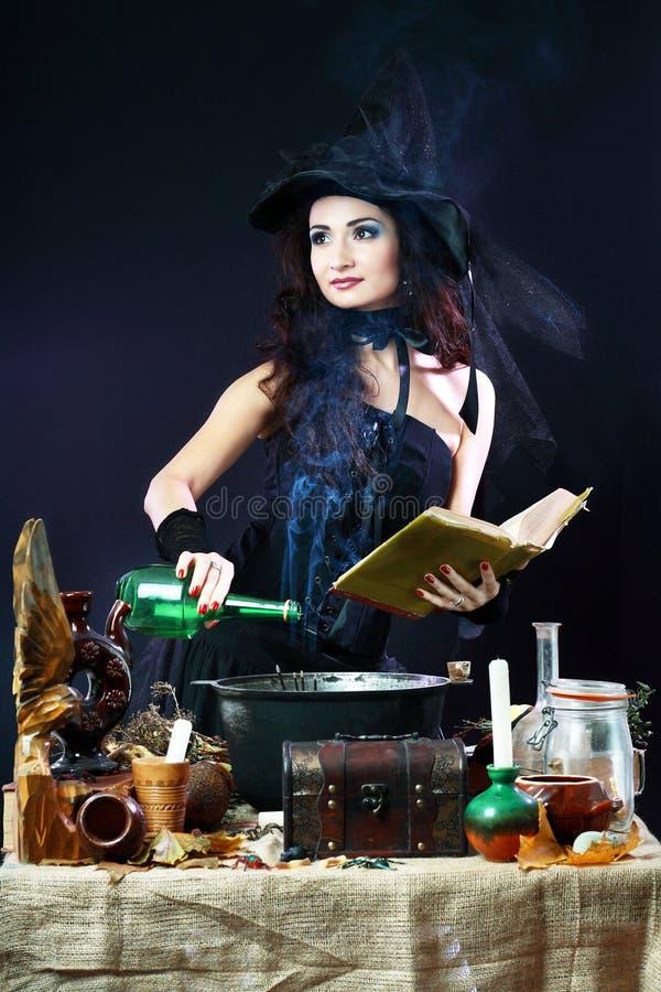 galerii Halloween ilustracje mój zadawalają widzią jednakowego wizyty czarownica obrazy stock