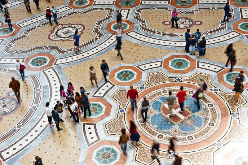 galerii Milan bruk obrazy stock