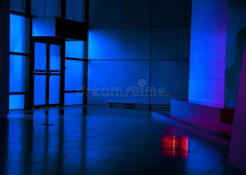Galerii sztuki wnętrze obrazy stock