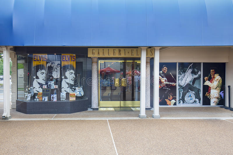 Galerij Elvis royalty-vrije stock afbeeldingen