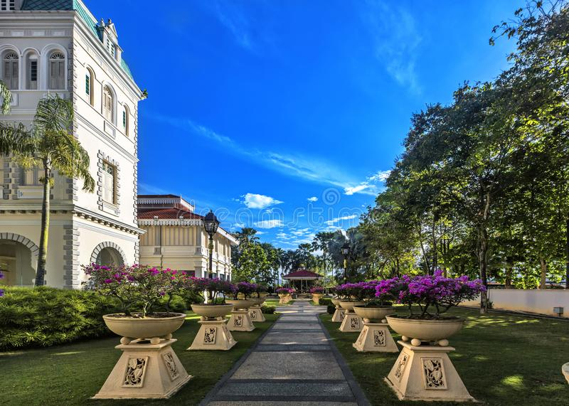Galerij Sultan Azlan Shah in Kuala Kangsar, Maleisië stock foto