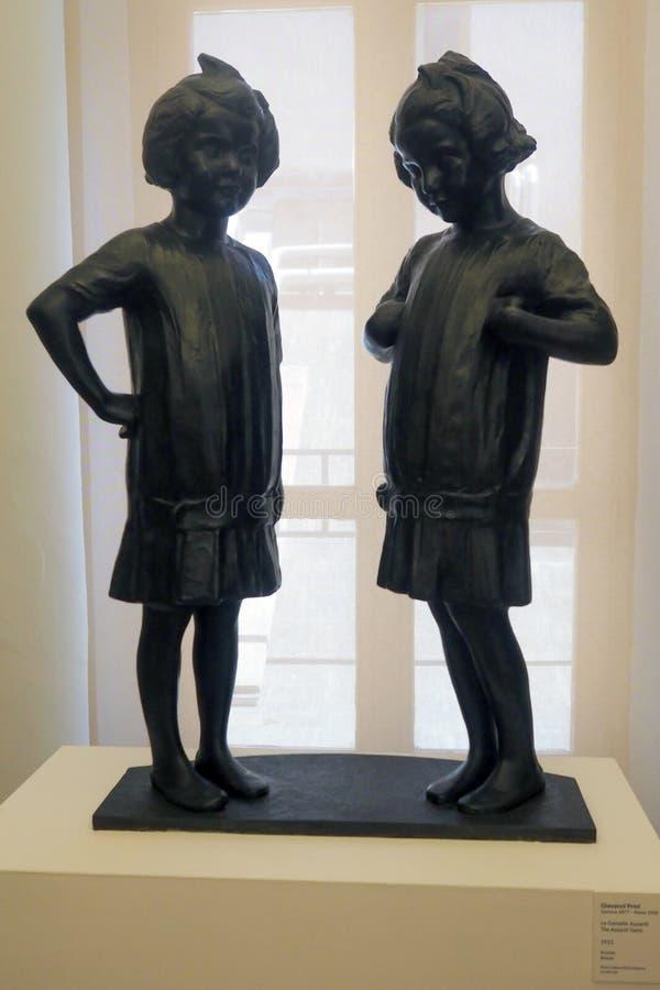 Galerij van Moderne en Eigentijdse Kunst in Rome, Italië royalty-vrije stock afbeeldingen