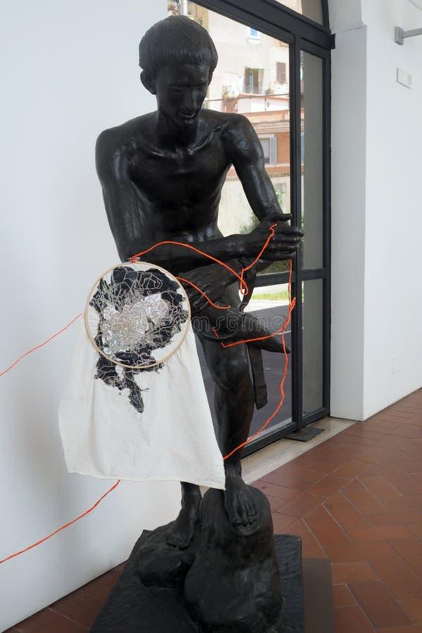 Galerij van Moderne en Eigentijdse Kunst in Rome, Italië stock fotografie