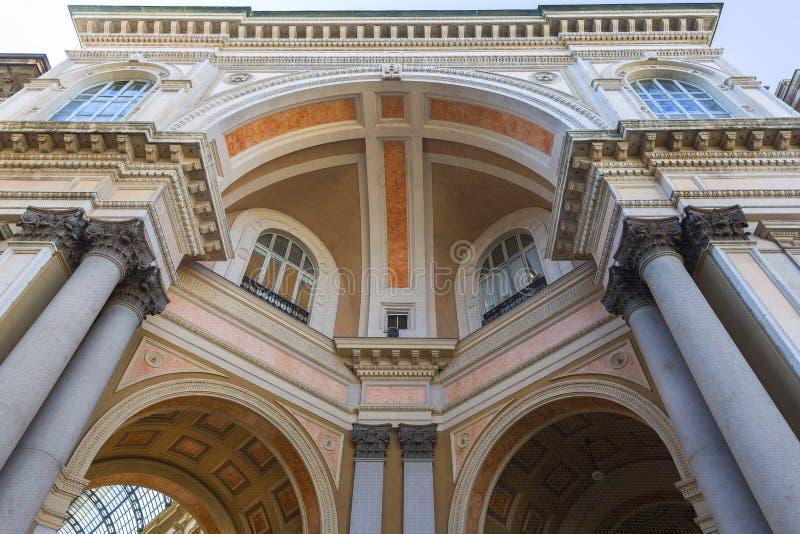Galerij Vittorio Emanuele II, luxewinkelcomplex, Milaan, Italië stock fotografie