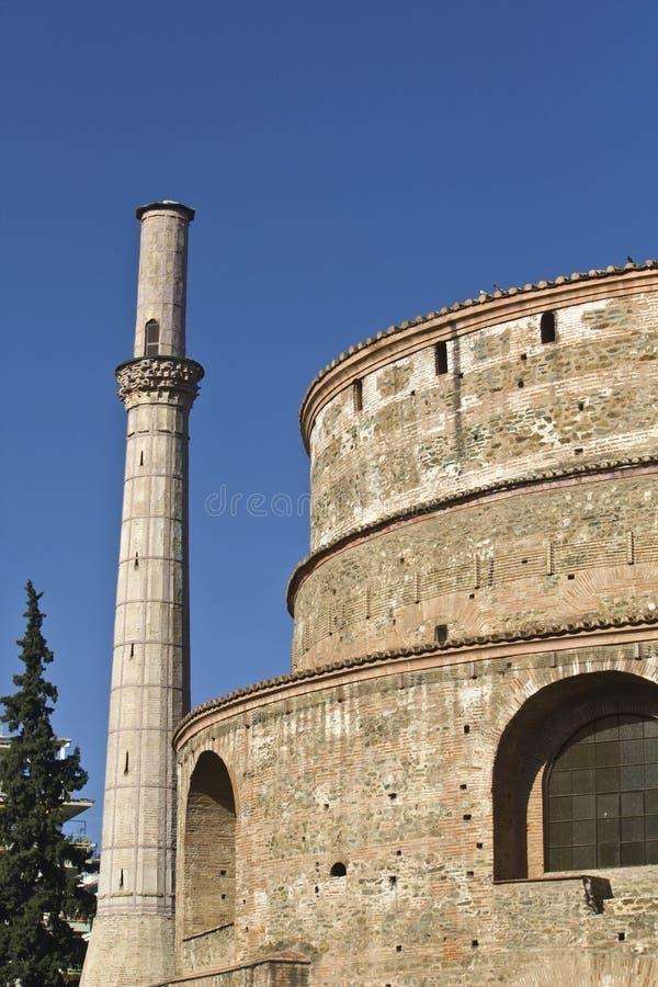 galerius pałac Thessaloniki fotografia royalty free