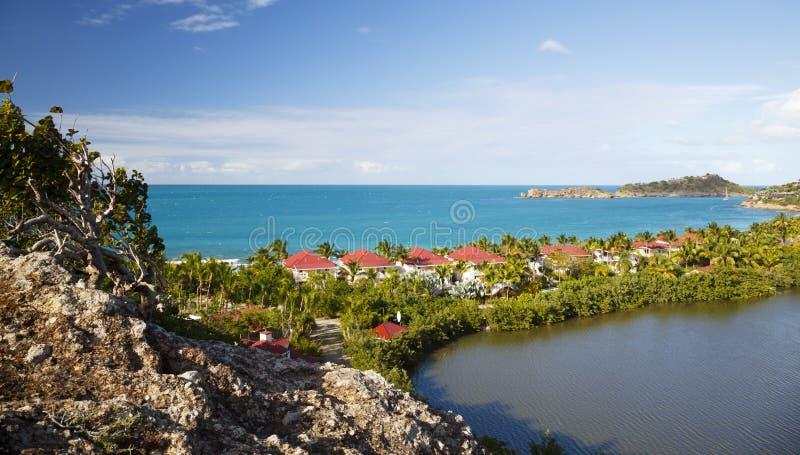 Galery zatoka, Antigua zdjęcia stock