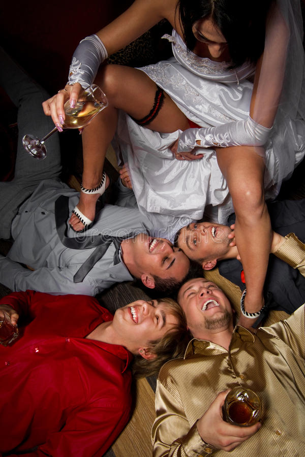 galet bröllop fotografering för bildbyråer