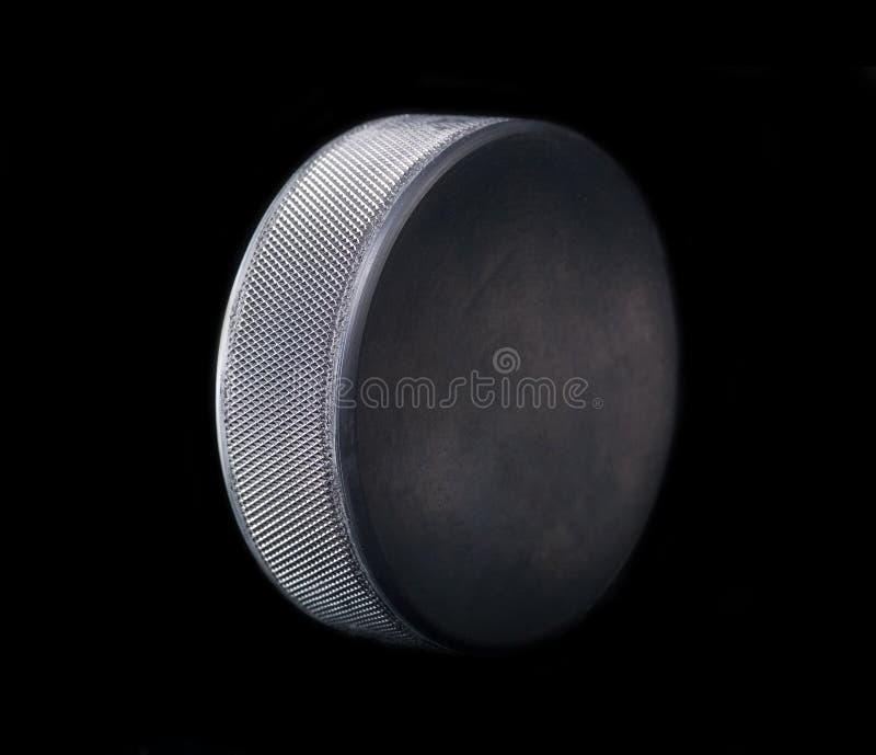 Galet d'hockey photo stock