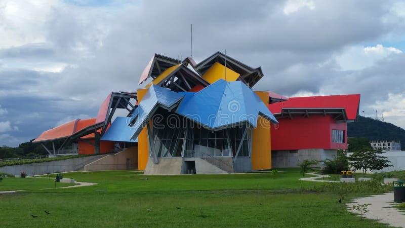 Galet museum Panama royaltyfria bilder