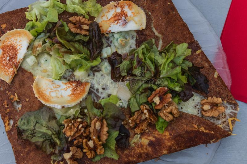 Galette typical food in France stock photos