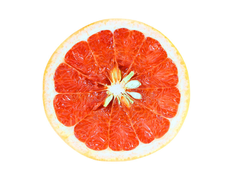 galf grapefruit zdjęcie royalty free