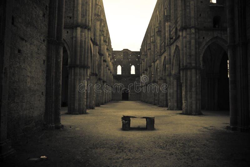 galgano san tuscany royaltyfri fotografi