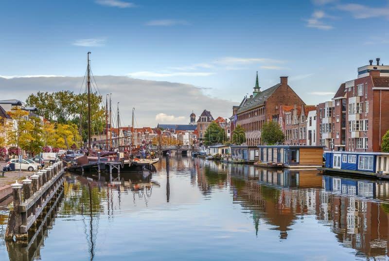 Galgewater, Λάιντεν, Κάτω Χώρες στοκ εικόνα με δικαίωμα ελεύθερης χρήσης