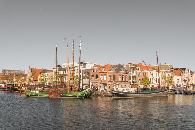 Galgewater στο Λάιντεν, Κάτω Χώρες στοκ εικόνα