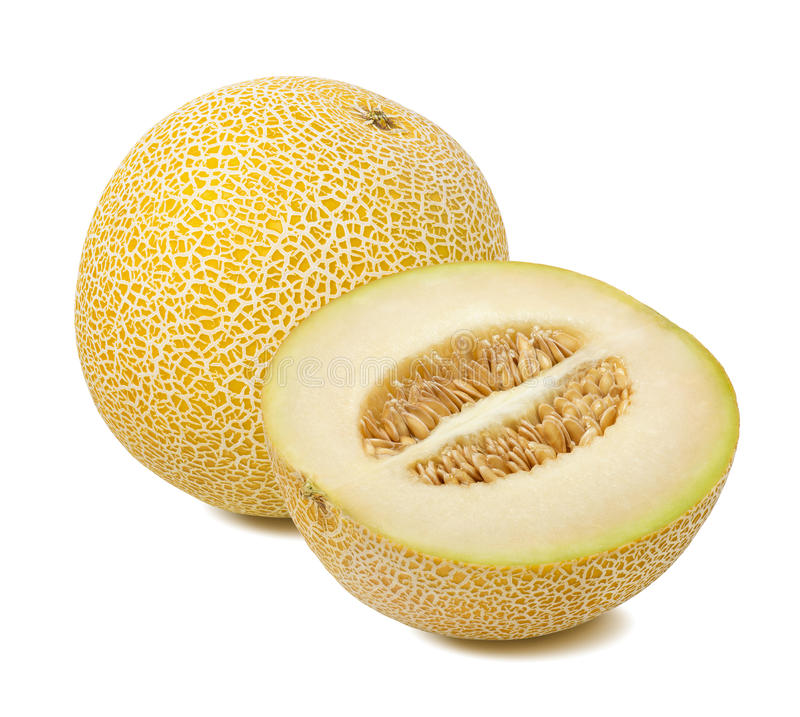 Free Galia Melon Composition Isolated Stock Images - 94503904