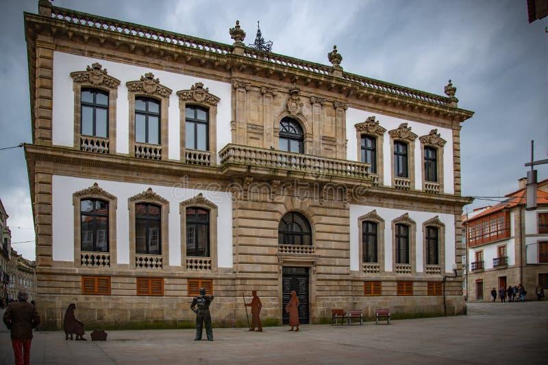 Galician fiskeläge royaltyfri foto