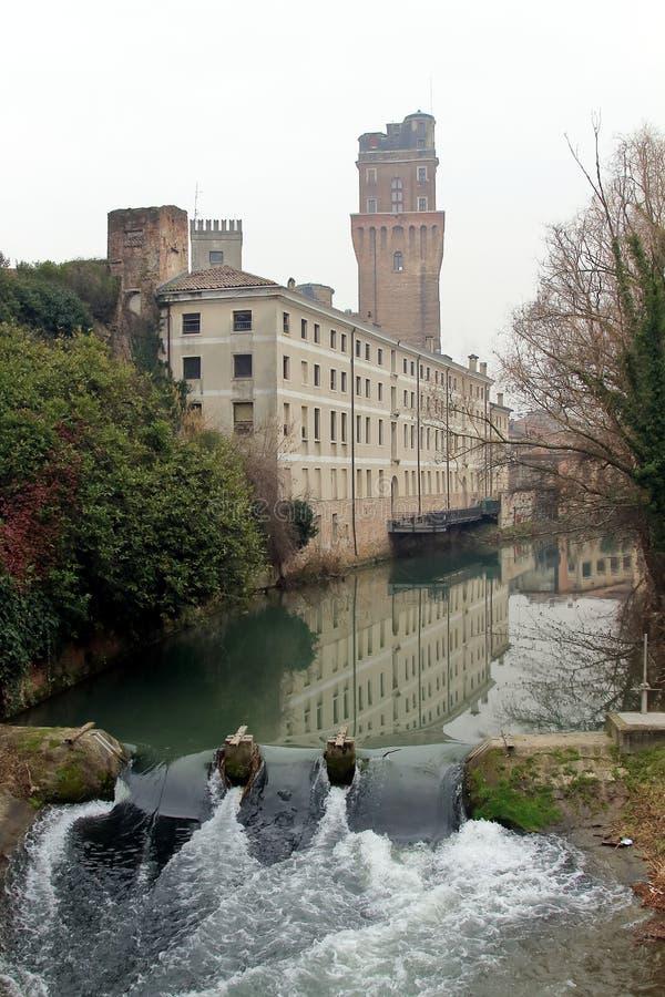 Galileo Astronomical Observatory La Specola Tower a Padova immagini stock libere da diritti