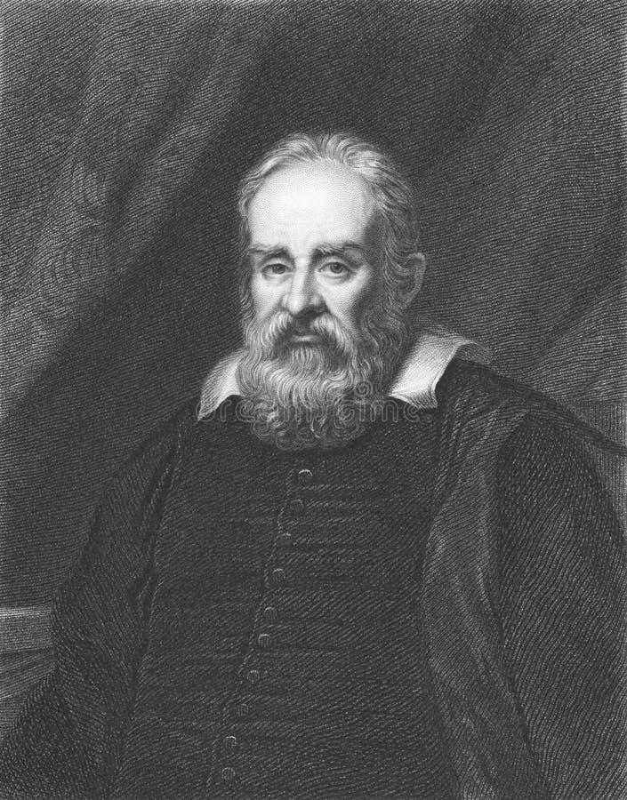 Galileo Galilei image stock