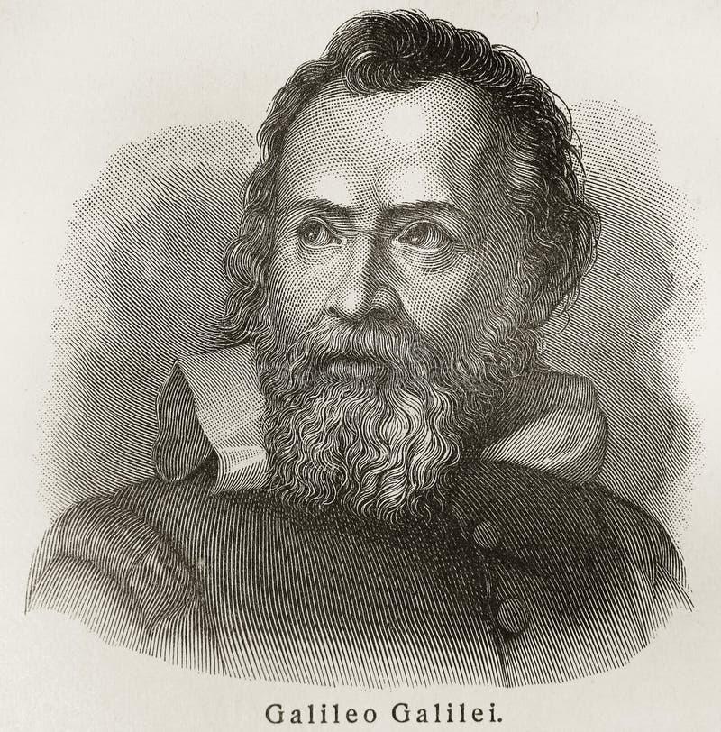 Galileo Galilei immagine stock