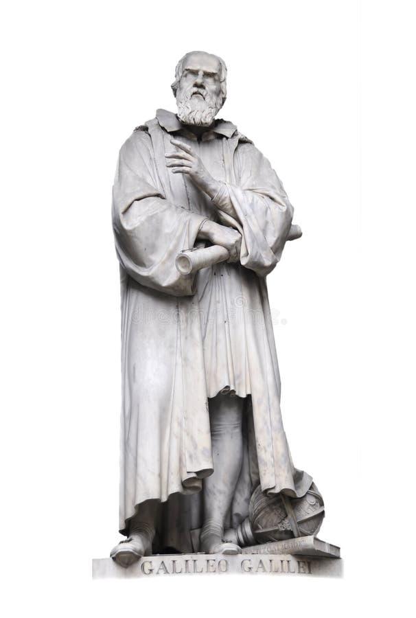 Galileo Galilei, Firenze Italia fotografie stock libere da diritti