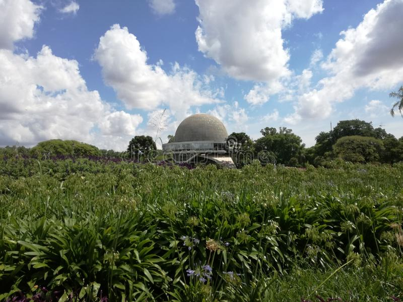 Galileo Galilei Planetarium stock foto