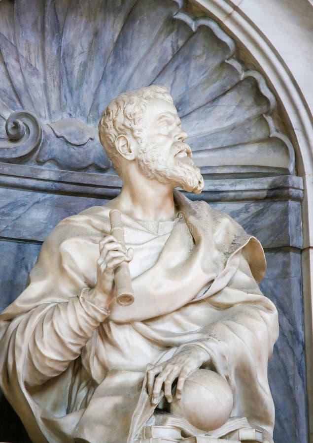 Galileo Galilei in Santa Croce, Firenze immagine stock libera da diritti