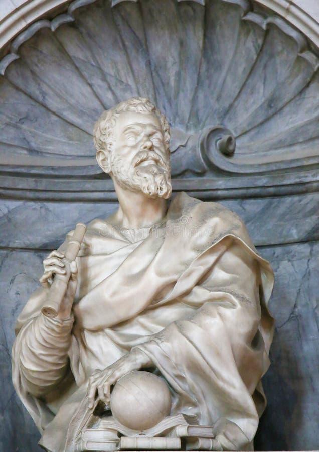 Galileo Galilei in Santa Croce, Firenze fotografia stock