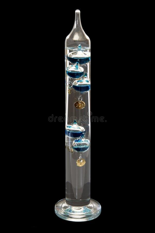 galileo termometer royaltyfri foto