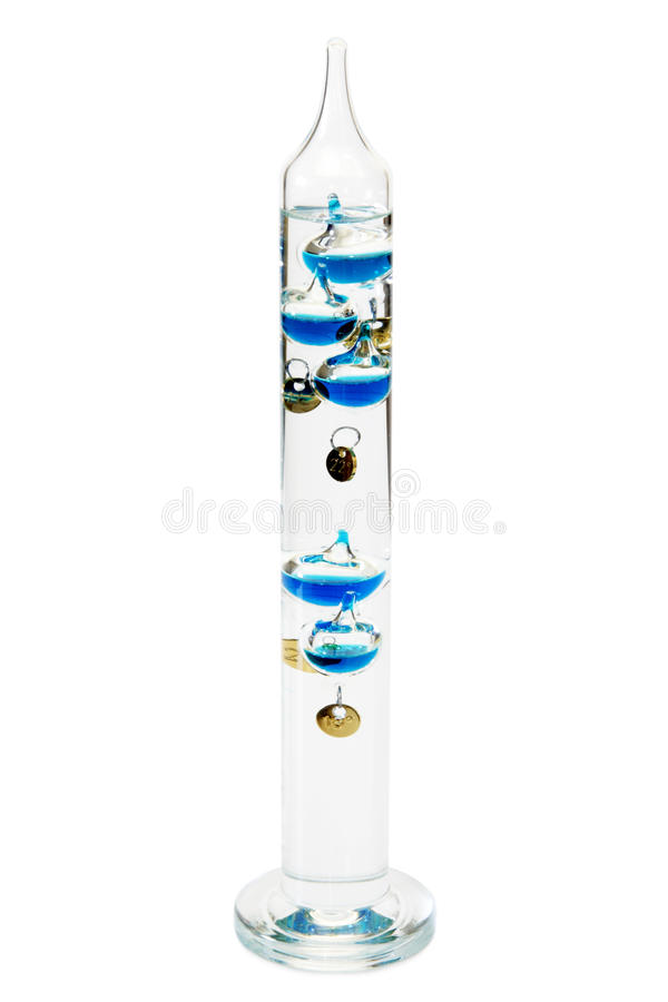 Download Galileo-thermometer stock image. Image of temperature - 12274419