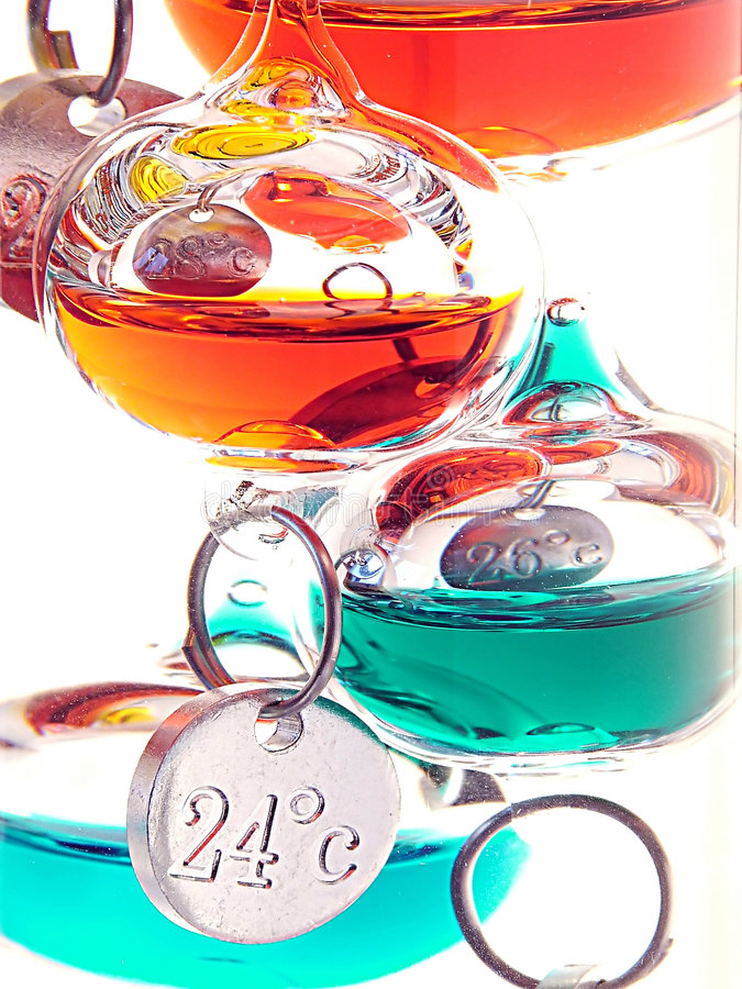 Free Galileo Thermometer Stock Photography - 1958212