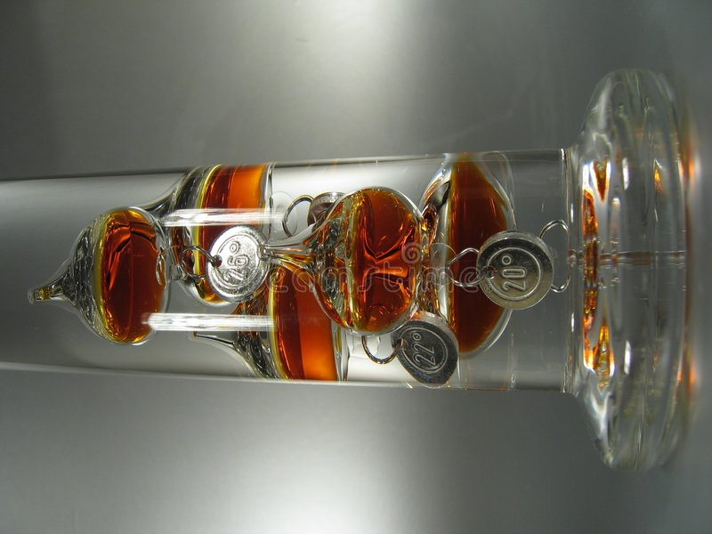 Download Galileo Thermometer II stock photo. Image of centigrade - 14494