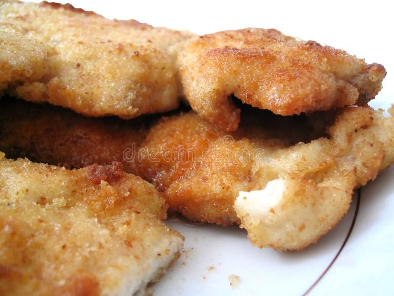 Download Galinha fritada imagem de stock. Imagem de jantar, fresco - 200339