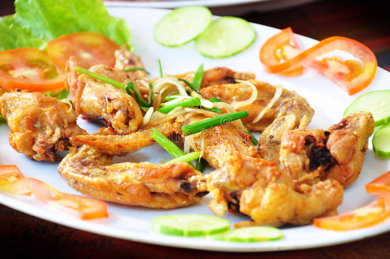 Galinha fritada vietnamiana fotos de stock