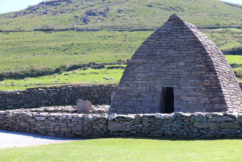 Gallarusretorica, Dingle Schiereiland, Ierland stock afbeeldingen