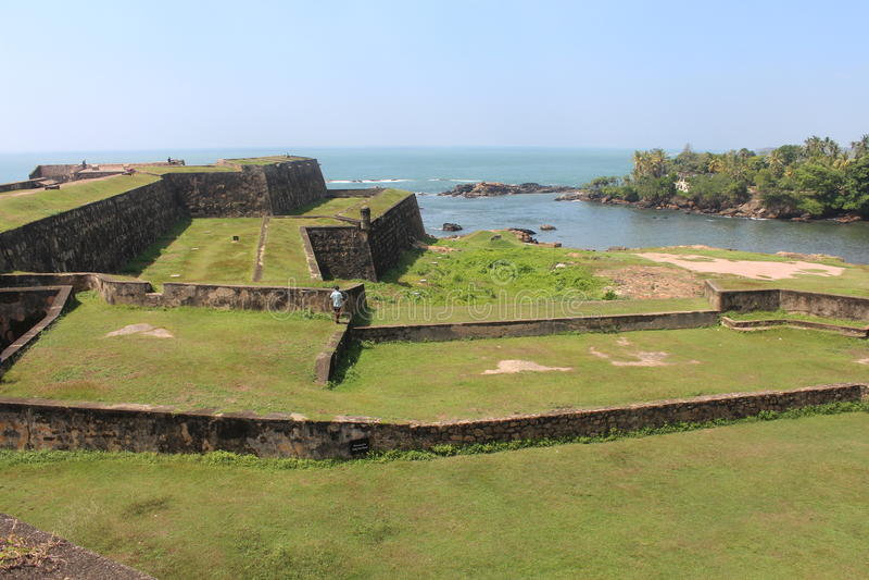 Galle fort, Sri Lanka royaltyfria foton