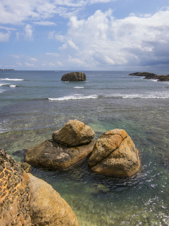 Galle fort in Srilanka. Galle fort wall in Srilanka stock images